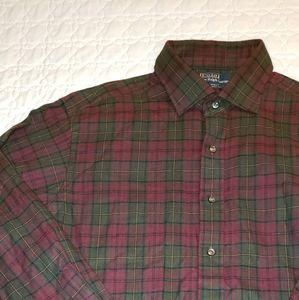 Mens Ralph Lauren Plaid Shirt